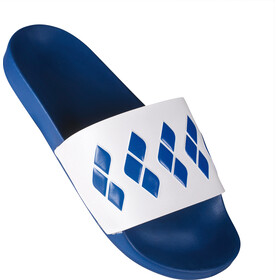 arena Team Stripe Slide Sandals Unisex blue-white-blue